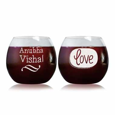 Our Love - Stylish Wine Glasses