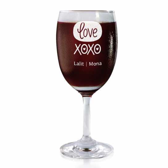 XOXO - Wine Glasses