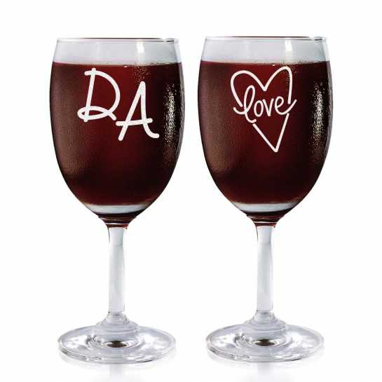 Super Couple - Wine Glasses