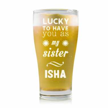 Lucky To Have You Sister - Stylish Beer Mug