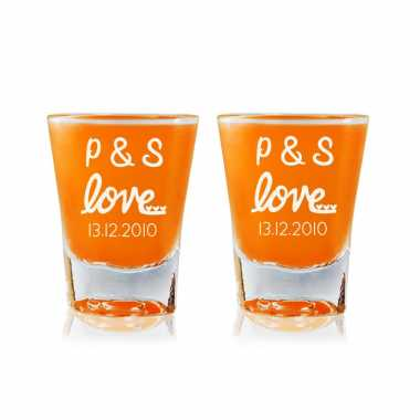 Sweet Love - Shot Glasses