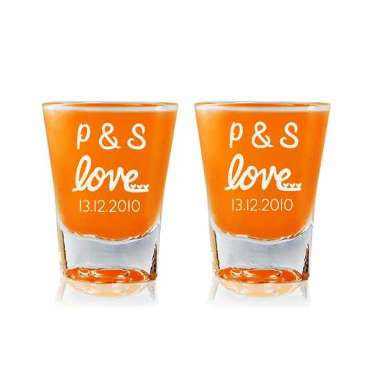 Sweet Love - Shot Glasses