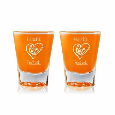 Customized Shot Glass For Girlfriend