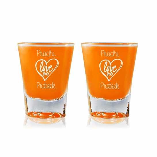 Love You - Shot Glasses