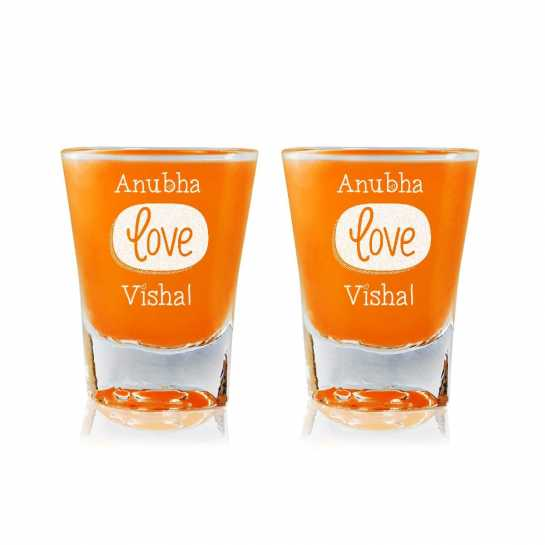 Bound By Love - Shot Glasses