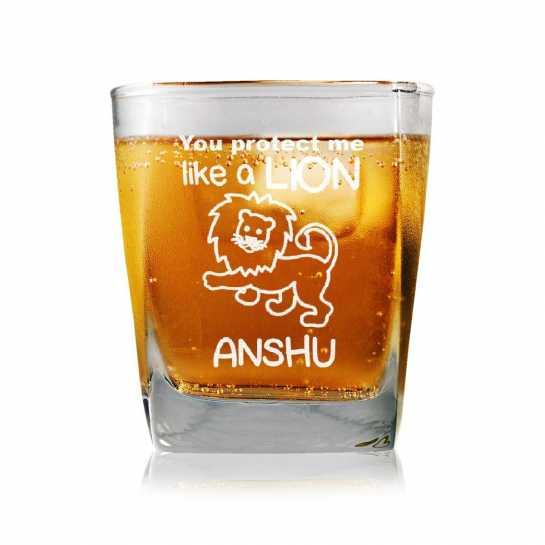 My Lion - Whisky Glasses
