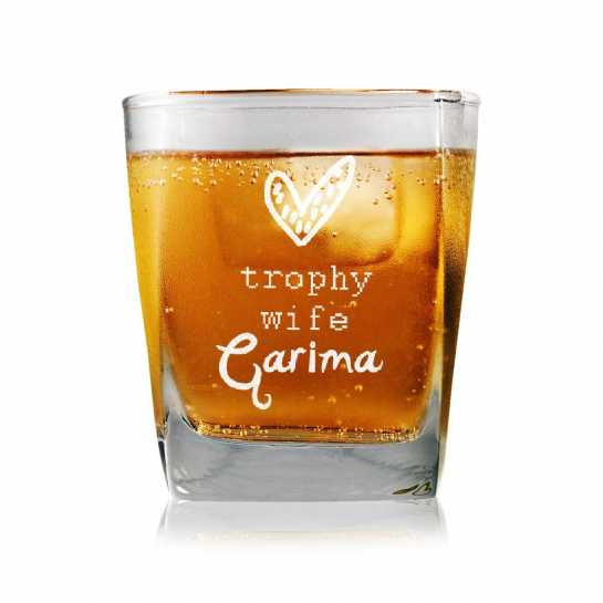 Trophy Wife - Whisky Glasses