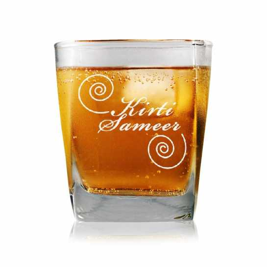 Star Couple - Whisky Glasses