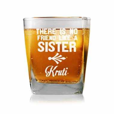 No Friend Like Sister - Whisky Glasses