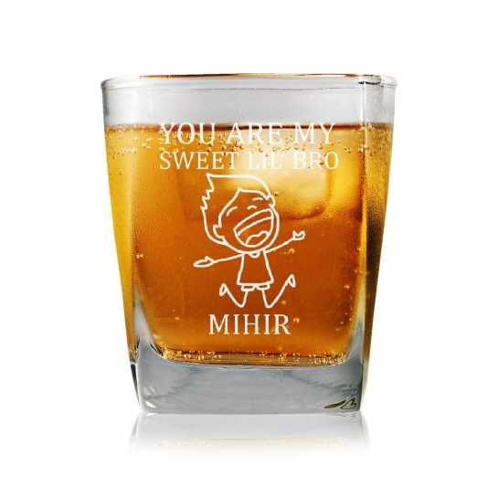 Sweet Little Bro - Whisky Glasses