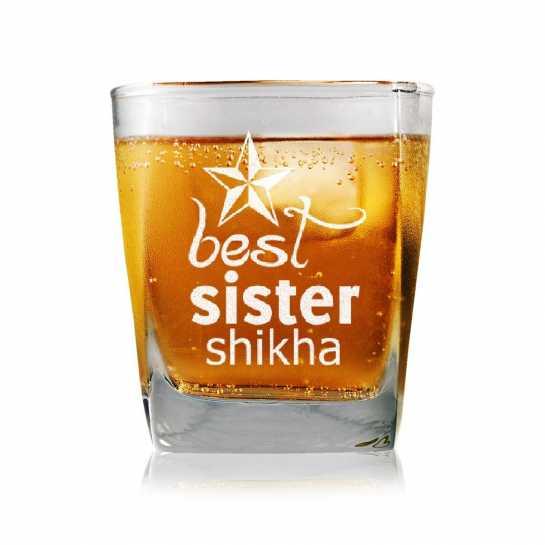 Best Sister - Whisky Glasses