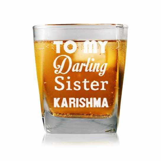 Darling Sister - Whisky Glasses