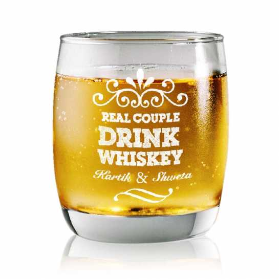 Drink Whisky - Rock Glasses