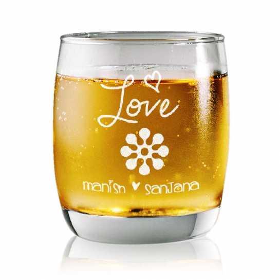 Whisky Love - Rock Glasses