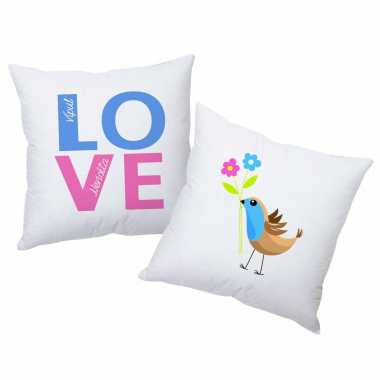 Love Birds - Personalized Cushions