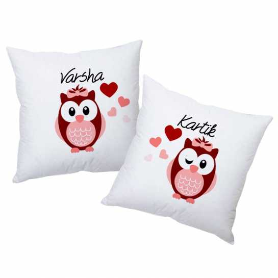 Love Owls- Personalized Cushions