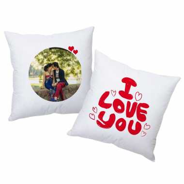 Romancing Couple Personalized Cushions