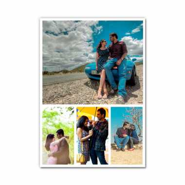 Photo Collage (4 Photos) - Layout 11