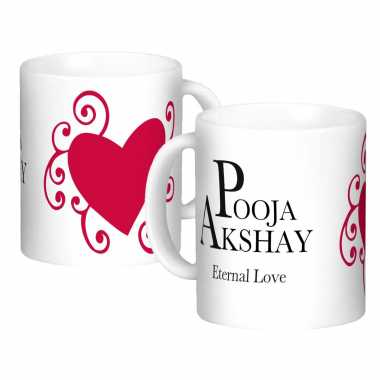 Eternal Love Custom Mugs