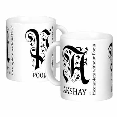 Traditional Personalized Mugs