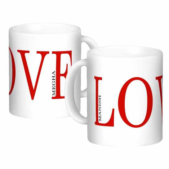 Personalized Mug for Couple - 76