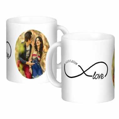 Anniversary Date Custom Mugs