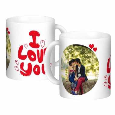Red Romance Custom Mugs