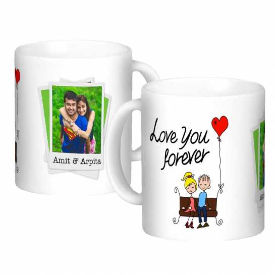 Personalized Mug for Couple - 123