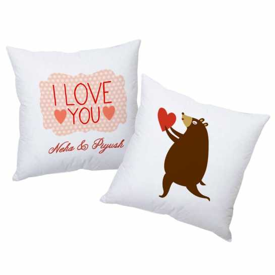 Personalized Cushions for Couple - 22