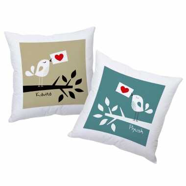 Lovebirds Couple Cushions