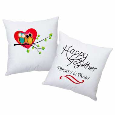 Happy Together Personalized Cushions