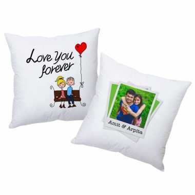 Cartoon Couple Personalized Cushions