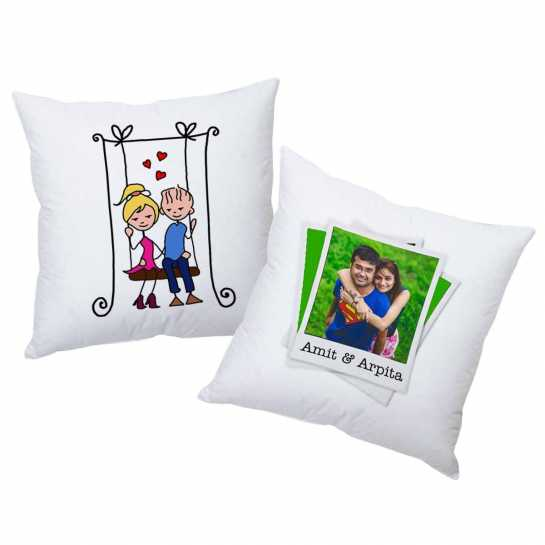 Personalized Cushions for Couple - 47