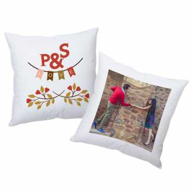 Couple Initials Personalized Cushions