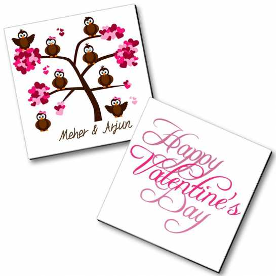 Personalized Valentine Magnet - 5
