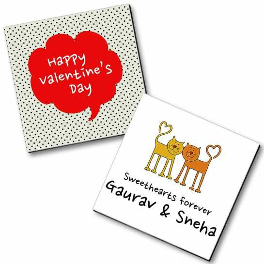 Personalized Valentine Magnet - 6