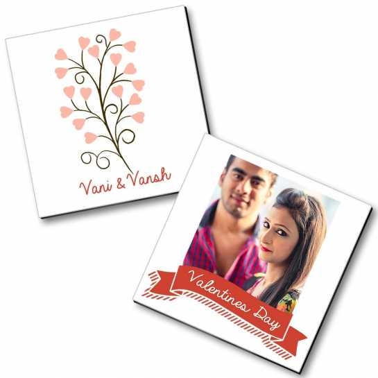 Personalized Valentine Magnet - 7