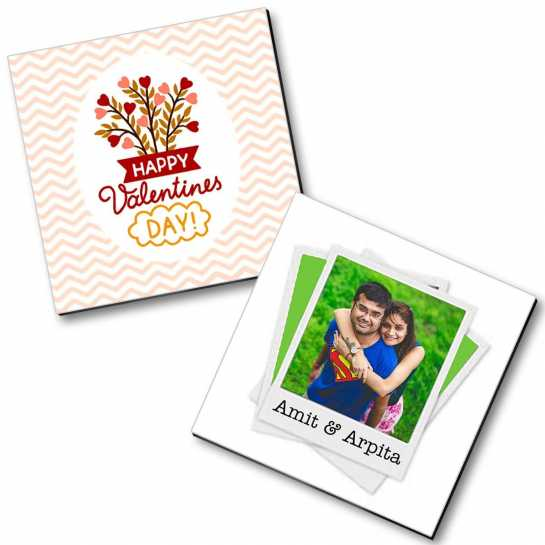 Personalized Valentine Magnet - 10