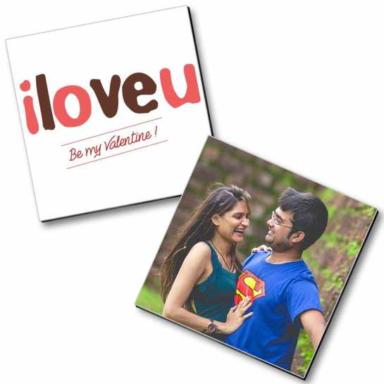 Personalized Valentine Magnet - 12