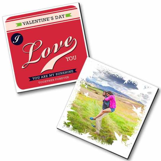 Personalized Valentine Magnet - 17