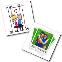 Personalized Magnet Couple - 6