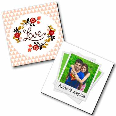 Personalized Magnet for New Couple