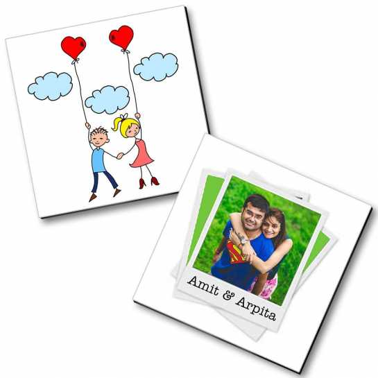 Personalized Magnet Couple - 9