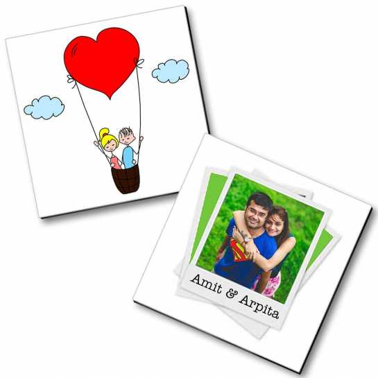 Personalized Magnet Couple - 10