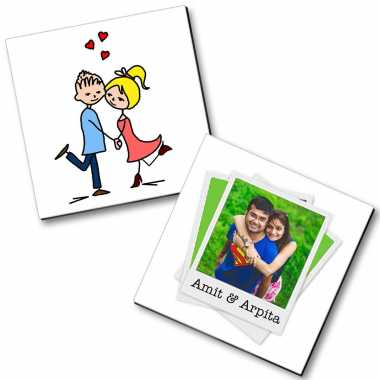 Together Couple Personalized Magnet