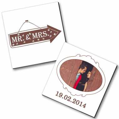Picture Magnet for Married Couple
