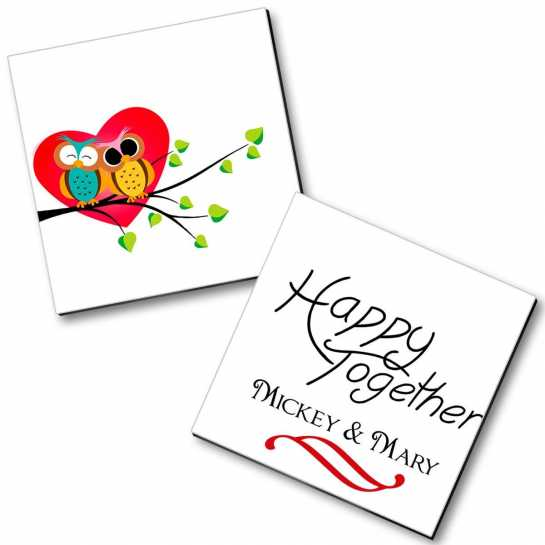 Personalized Magnet Couple - 26