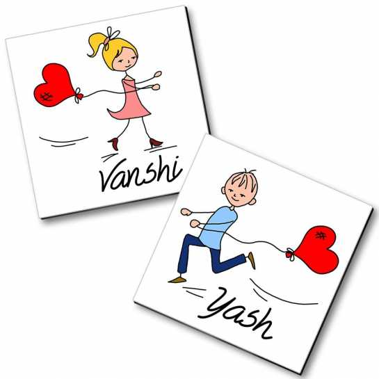 Personalized Magnet Couple - 28