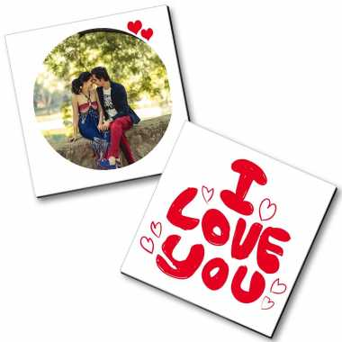 College Couple Personalized Magnet