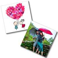 Personalized Magnets for Rain Couple
